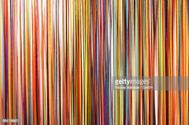 Full Frame Shot Of Colorful Pattern Wall