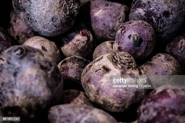 Full Frame Shot Of Common Beets At Market