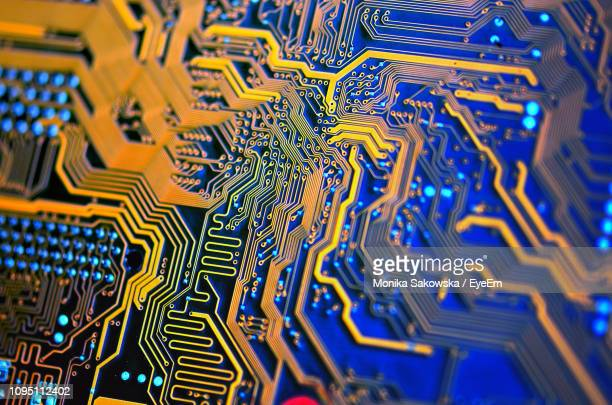 full frame shot of computer chip - computer chip stock pictures, royalty-free photos & images