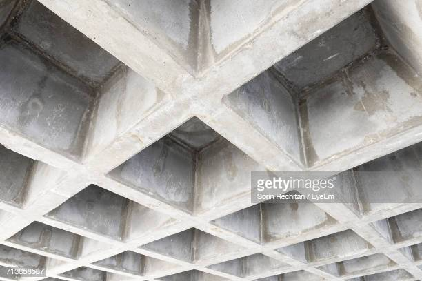Full Frame Shot Of Concrete Built Structure At Construction Site