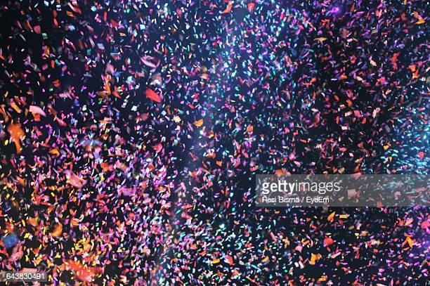 full frame shot of confetti - confetti stock pictures, royalty-free photos & images