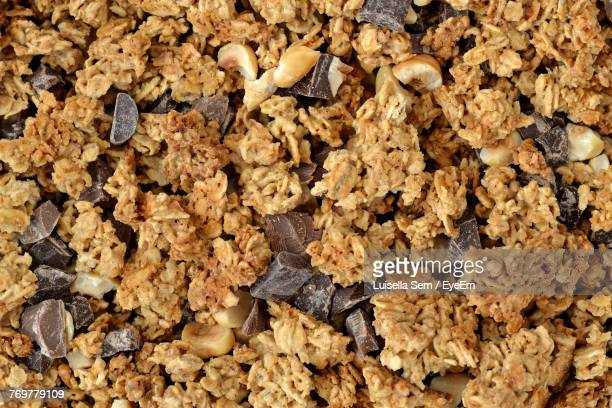 full frame shot of cookies - granola stock pictures, royalty-free photos & images