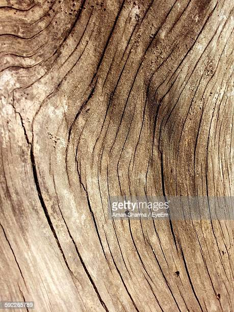 Full Frame Shot Of Cracked Wood