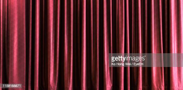 full frame shot of curtain - curtain stock pictures, royalty-free photos & images