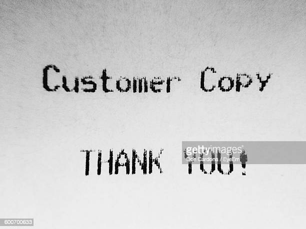 full frame shot of customer receipt - receipt stock pictures, royalty-free photos & images