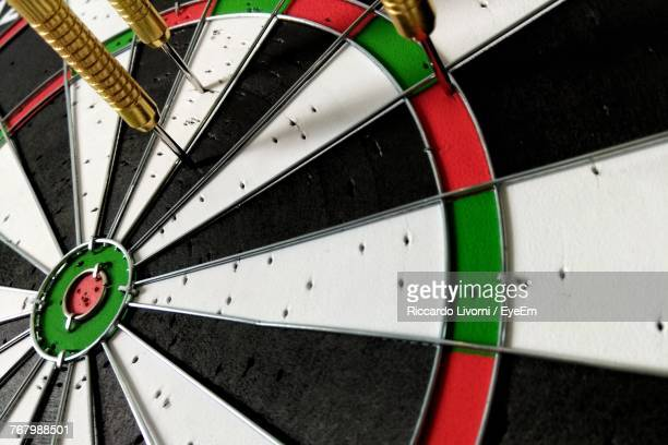 Full Frame Shot Of Dartboard