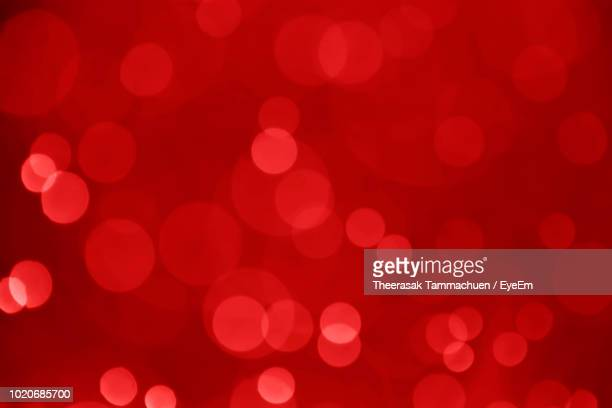 full frame shot of defocused lights - red stock pictures, royalty-free photos & images