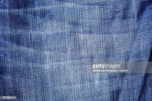 Full Frame Shot Of Denim