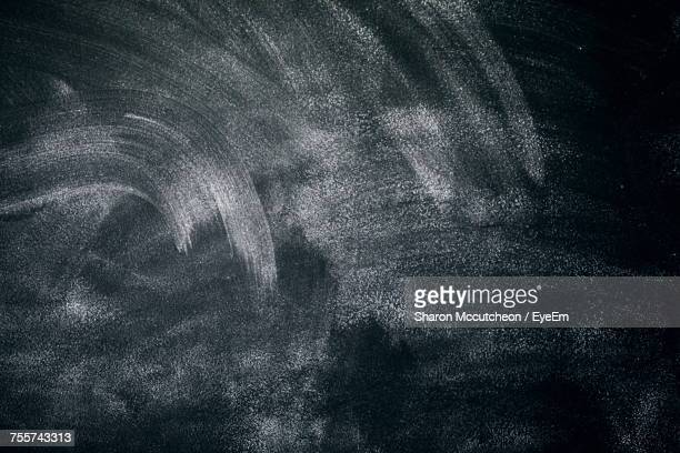 full frame shot of dirty blackboard - blackboard stock photos and pictures