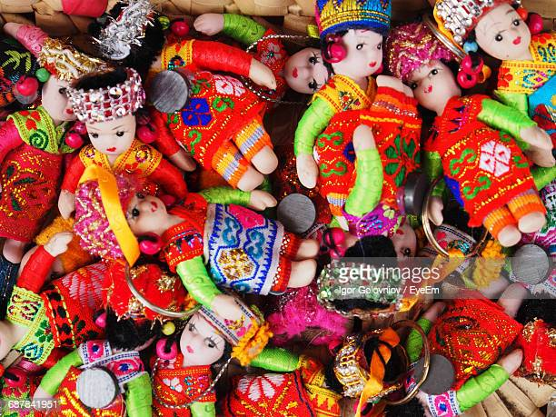 full frame shot of dolls - igor golovniov stock pictures, royalty-free photos & images