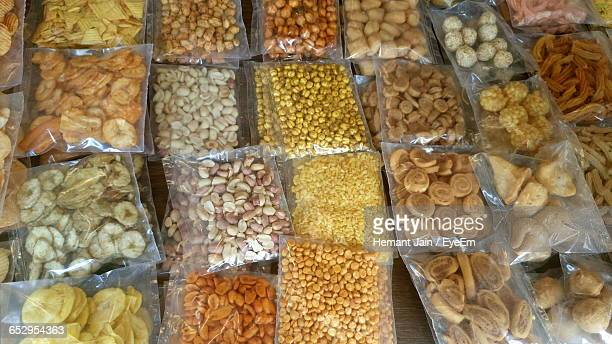 Full Frame Shot Of Dried Fruits And Nuts For Sale