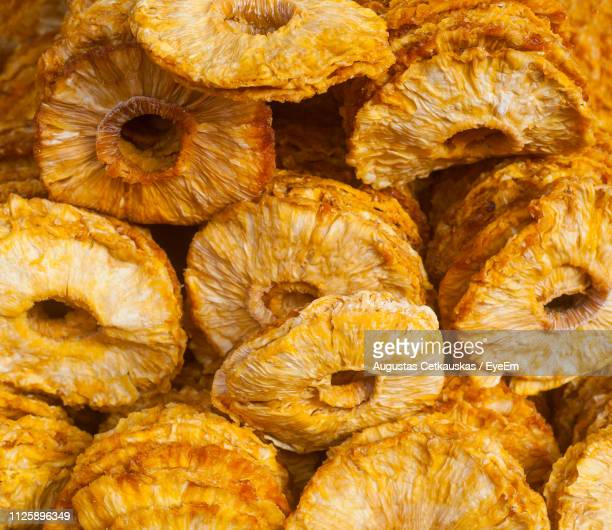 full frame shot of dry mushrooms in market for sale - cetkauskas stock pictures, royalty-free photos & images