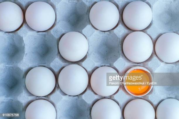 full frame shot of egg carton - animal egg stock pictures, royalty-free photos & images