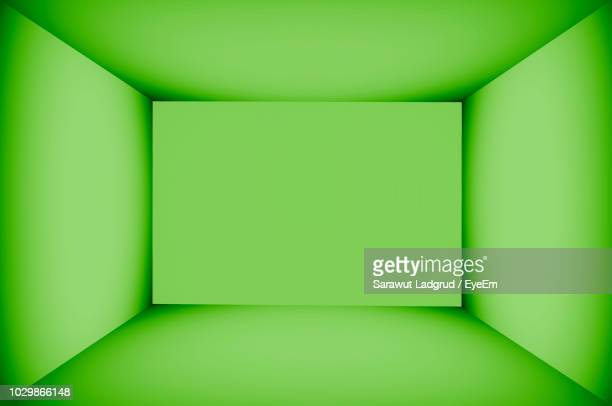 full frame shot of empty green box - rectangle stock pictures, royalty-free photos & images