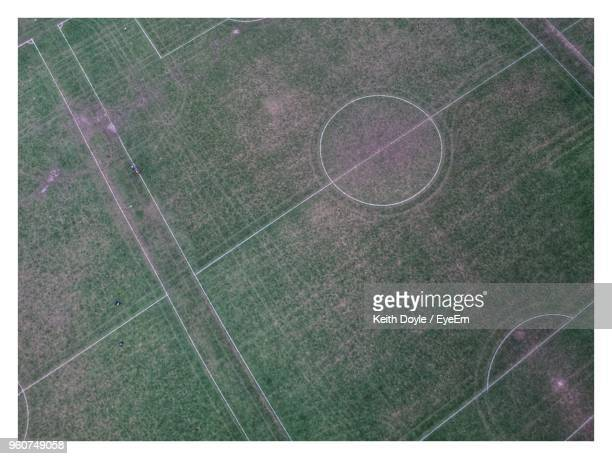 full frame shot of empty soccer field - transfer image stock pictures, royalty-free photos & images