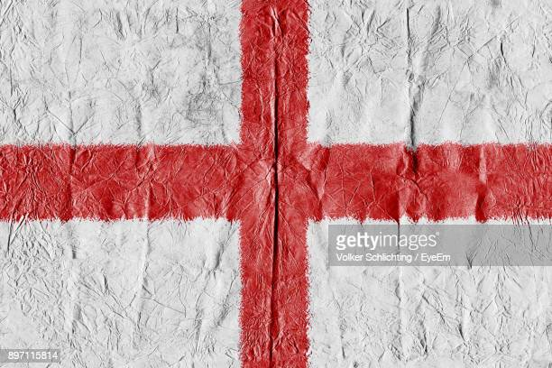 full frame shot of english flag - bandiera inglese foto e immagini stock