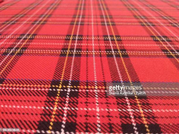 full frame shot of fabric - tartan stock pictures, royalty-free photos & images