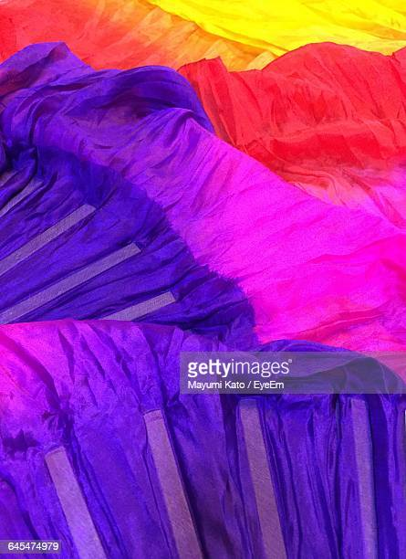 full frame shot of fan veils - belly dancing stock photos and pictures