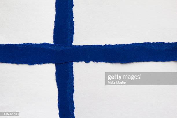 full frame shot of finnish flag - finnish flag stock photos and pictures