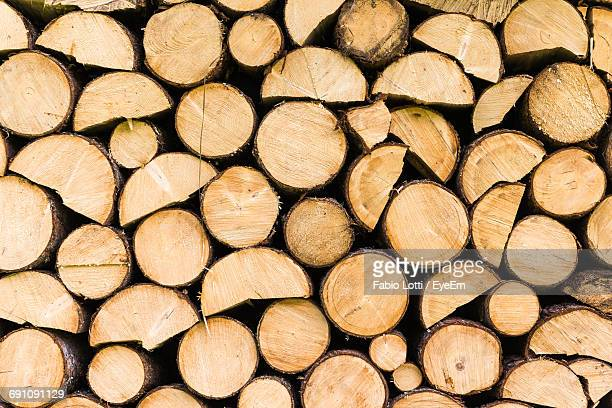 full frame shot of firewood - firewood stock pictures, royalty-free photos & images
