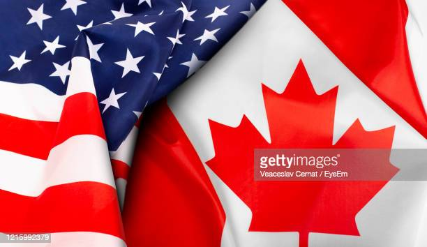 full frame shot of flag - canada stock pictures, royalty-free photos & images