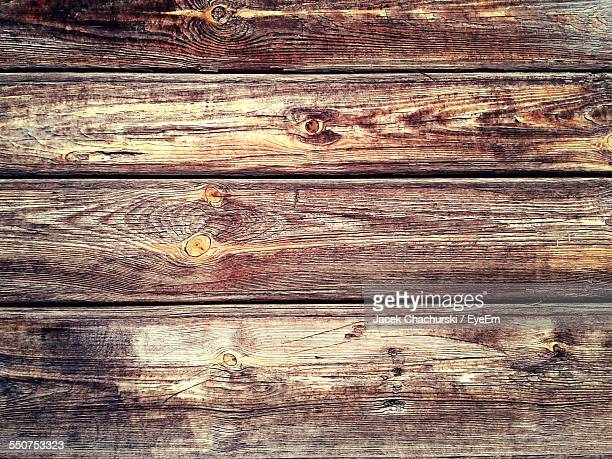 Full Frame Shot Of Floorboard