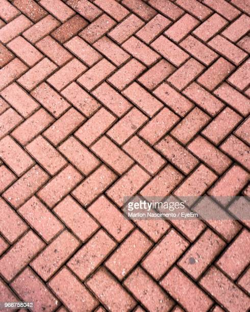 full frame shot of footpath - cobblestone stock pictures, royalty-free photos & images