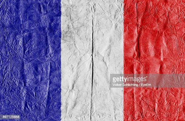 Full Frame Shot Of French Flag