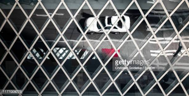 full frame shot of glass building - christian soldatke stock pictures, royalty-free photos & images