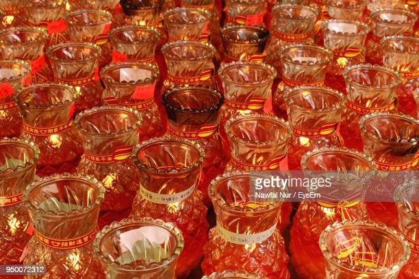 full frame shot of glass containers - nawfal nur stock pictures, royalty-free photos & images