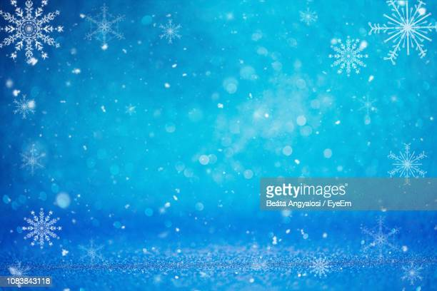 full frame shot of glitters - snowflake background stock photos and pictures