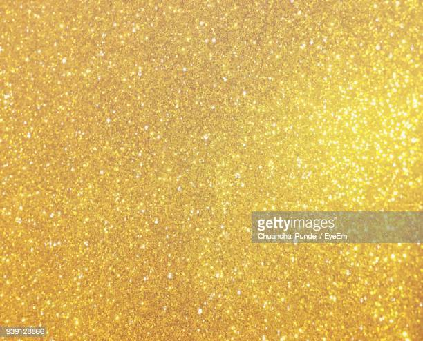Full Frame Shot Of Gold Colored Shimmer