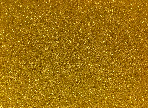 Full Frame Shot Of Golden Glitter - gettyimageskorea