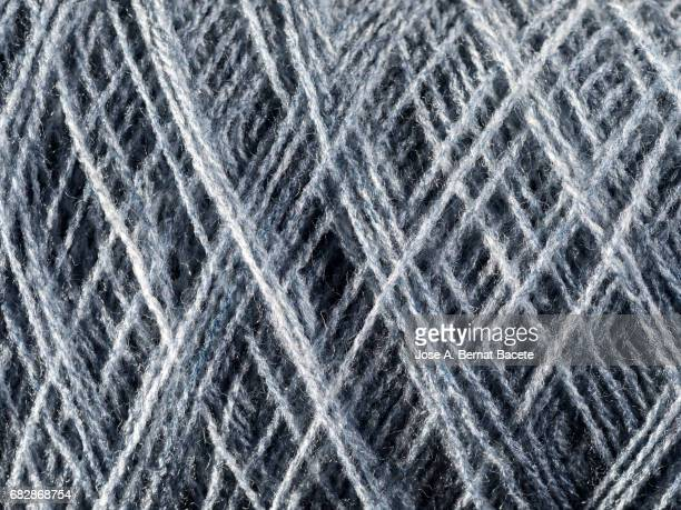 Full Frame Shot Of gray Wools For Sale In Shop