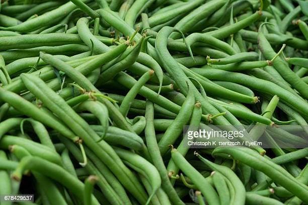Full Frame Shot Of Green Beans
