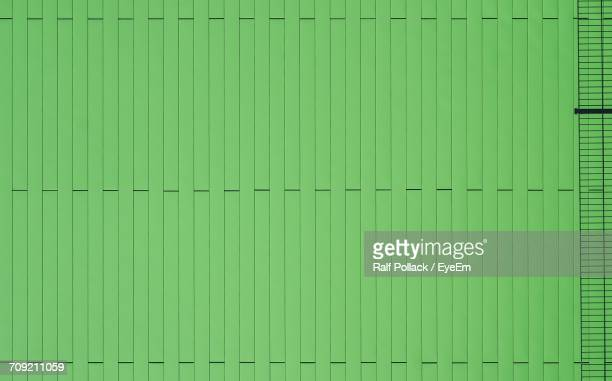 Full Frame Shot Of Green Patterned Wall