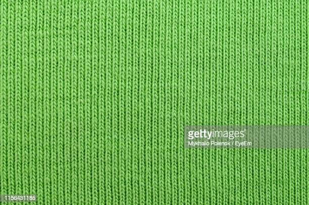 full frame shot of green sweater - jumper stock pictures, royalty-free photos & images