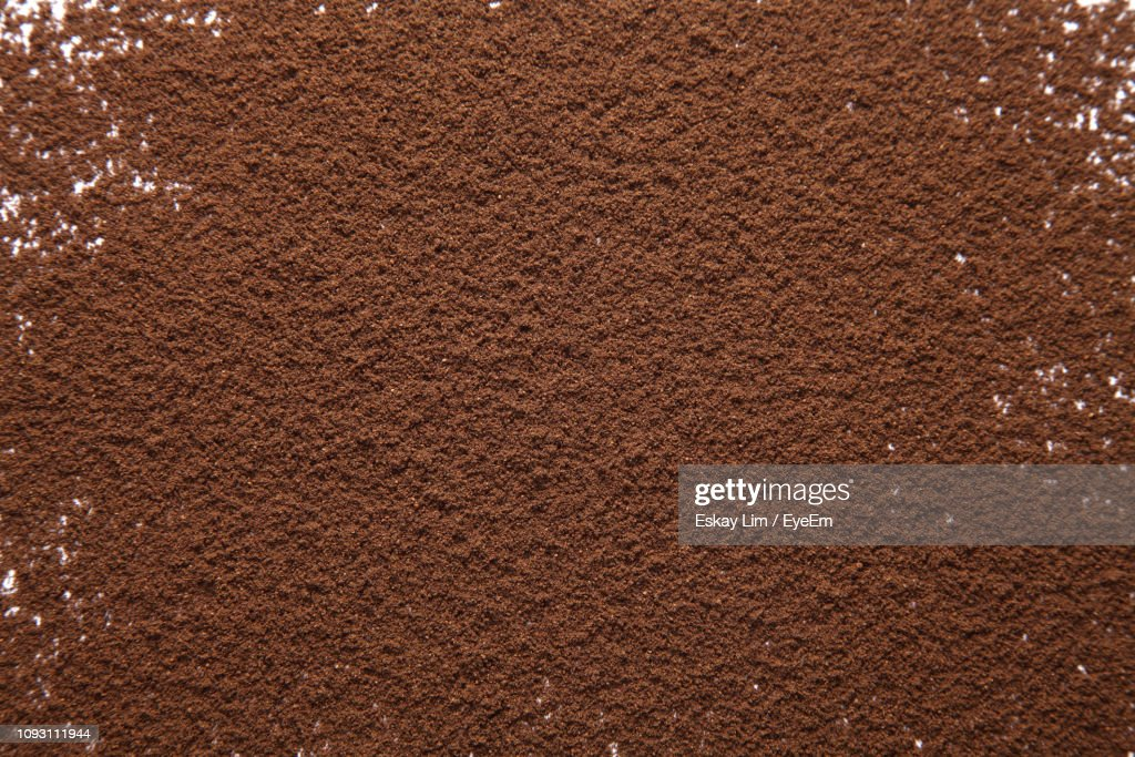 Full Frame Shot Of Ground Coffee : Stock Photo