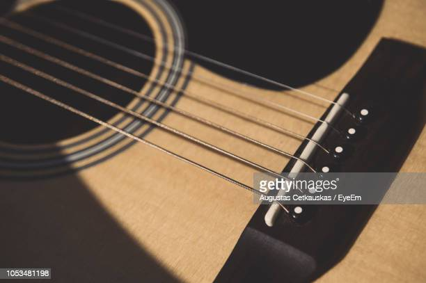full frame shot of guitar - cetkauskas stock pictures, royalty-free photos & images