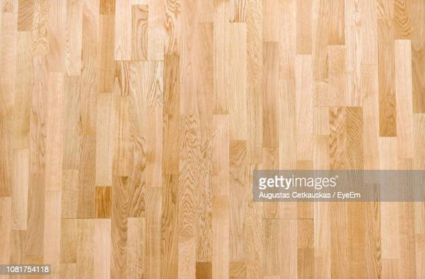 full frame shot of hardwood floor - wooden floor stock pictures, royalty-free photos & images