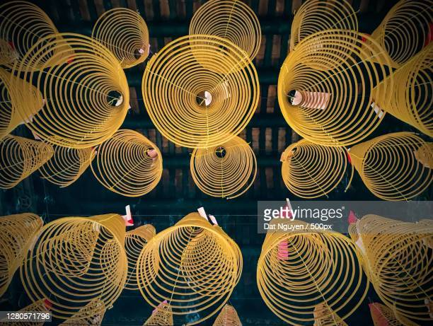 full frame shot of hats for sale in market,vietnam - incense coils stock pictures, royalty-free photos & images