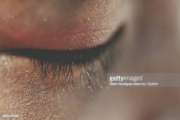 full frame shot of human head - eyes closed stock pictures, royalty-free photos & images