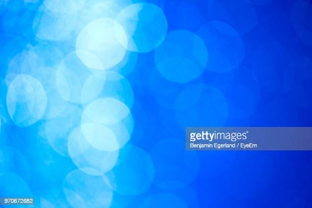 full frame shot of illuminated blue lights - blue background stock pictures, royalty-free photos & images