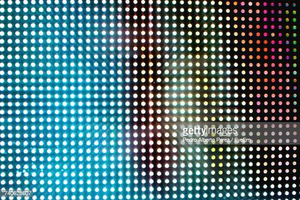full frame shot of illuminated ceiling - pixels stock photos and pictures