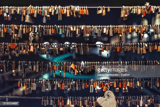 full frame shot of illuminated lighting equipment - slovenia stock pictures, royalty-free photos & images