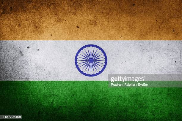 full frame shot of indian flag - indian flag stock pictures, royalty-free photos & images