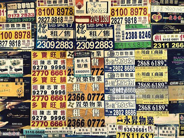 Full Frame Shot Of Information Signs On Wall