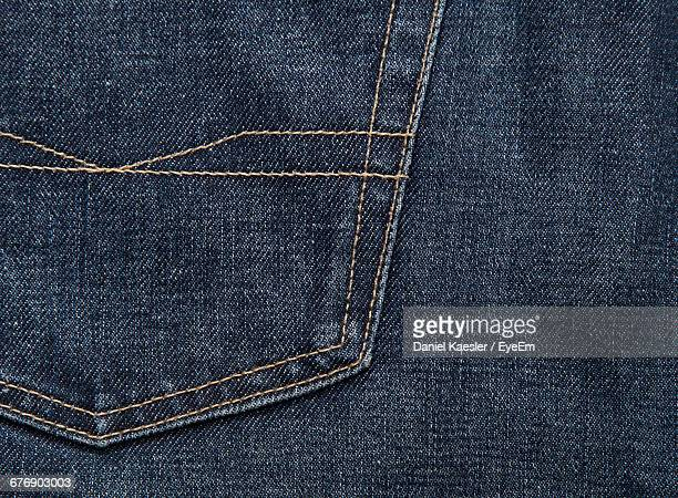 Full Frame Shot Of Jeans
