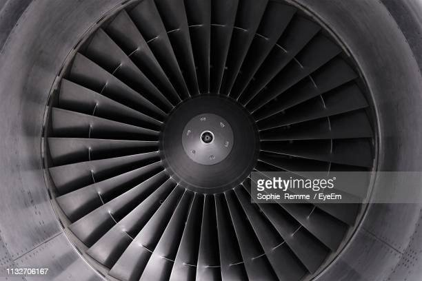 full frame shot of jet engine - turbin bildbanksfoton och bilder