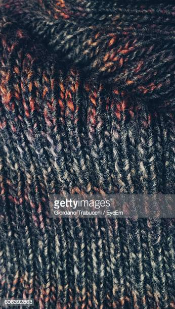 Full Frame Shot Of Knitted Woolen Cloth